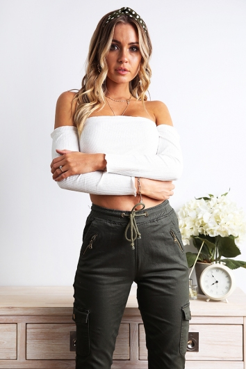 Esther Top - White