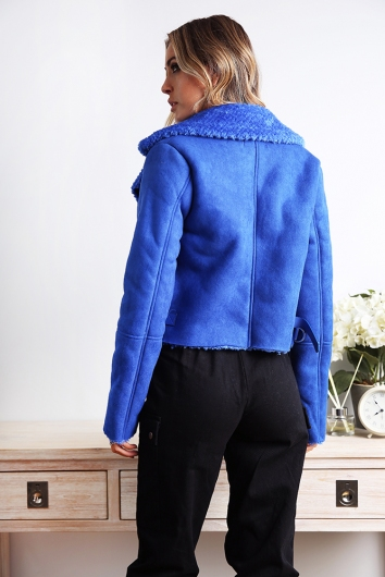 Bomb As Jacket - Electric Blue