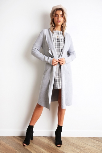 Kaylah Cardigan - Grey