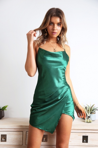 Want Your Number Dress - Jade