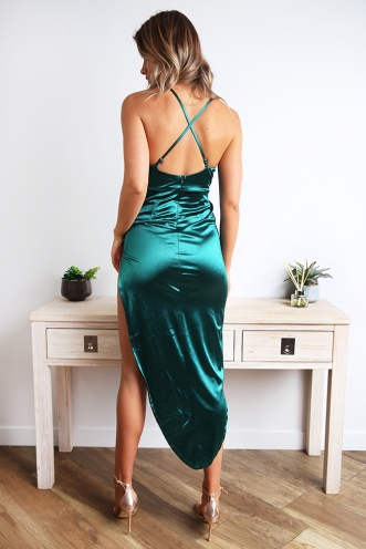Freedom Dress - Emerald Green