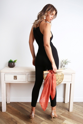 Upper East Side Jumpsuit - Black