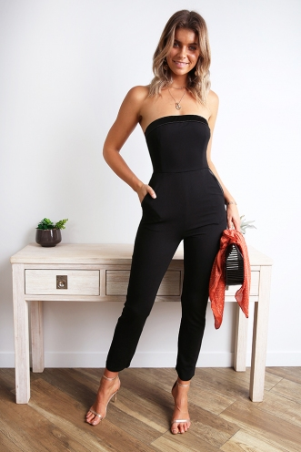 BOSS jumpsuit - Black