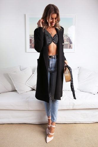 Kaylah Cardigan - Black