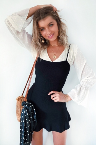 By The Way Dress - Black