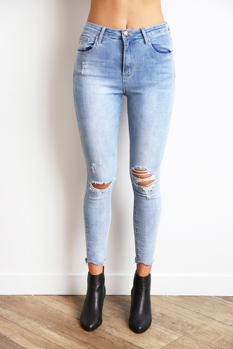 Find My Way Jeans - Blue Denim