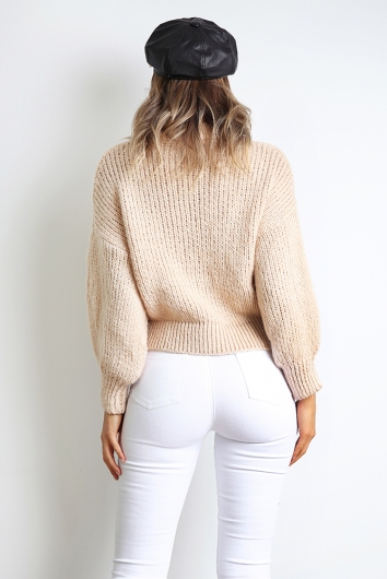 Go Looking Jumper - Beige