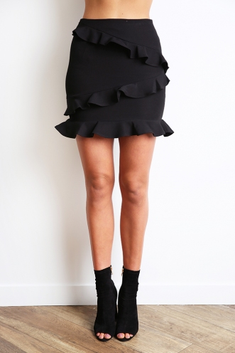 With You Skirt - Black