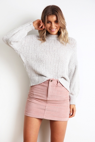 Go Looking Jumper - Light Grey