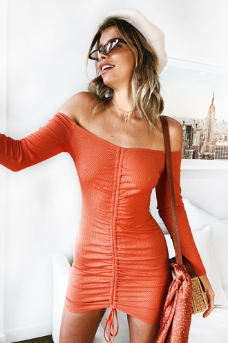 Like No Other Dress - Orange