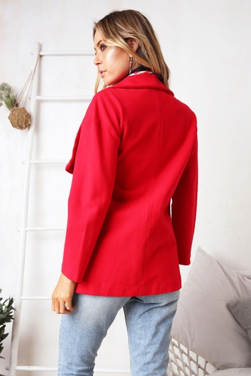 If You Say So Jacket - Red