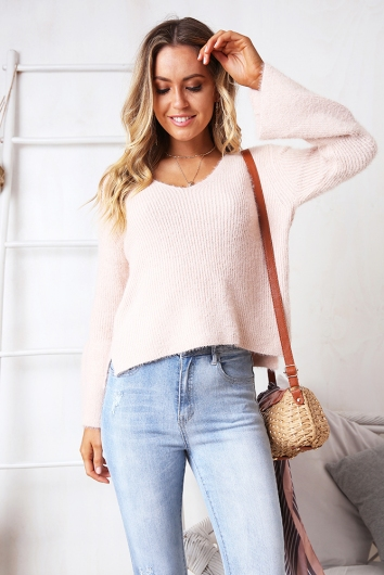 Lost In Paradise Jumper - Pink