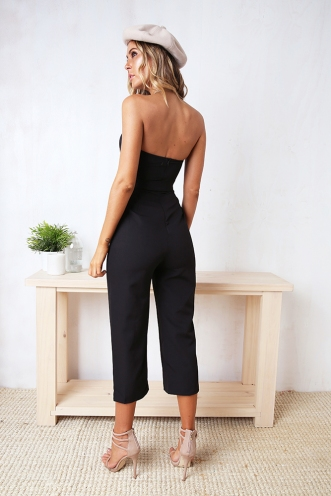 Cheyenne Jumpsuit - Black