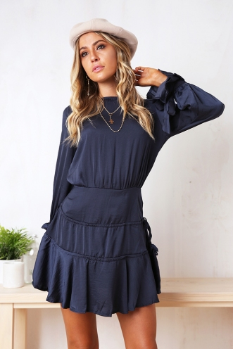 Shannen Dress - Navy