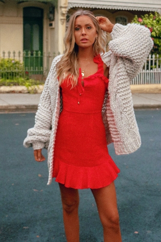 Win Me Back Dress - Red