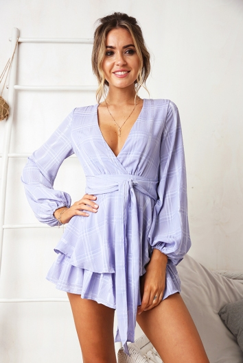 Truly Madly Deeply Playsuit - Lavender