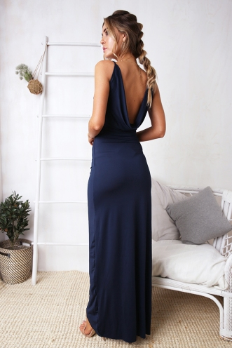 5e16579b7a58 Madalyn Dress - Navy ...