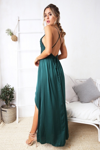 Lara evening dress - Green