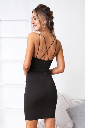 Head Over Heels Dress - Black
