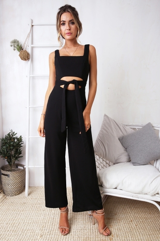 Taleesa Jumpsuit - Black