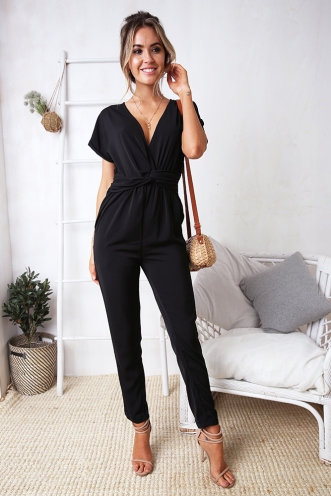 Bianca Jumpsuit- Black