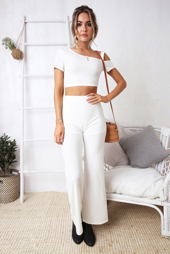 Seamona Top - White