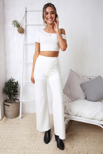 Seamona Pants - White