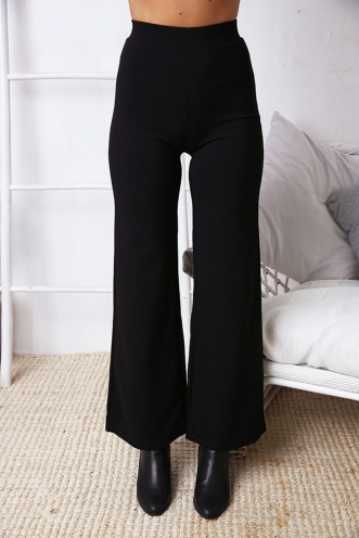 Seamona Pants - Black
