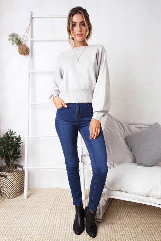 Krystie Jumper - Grey