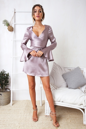 Annalyse Dress - Mauve