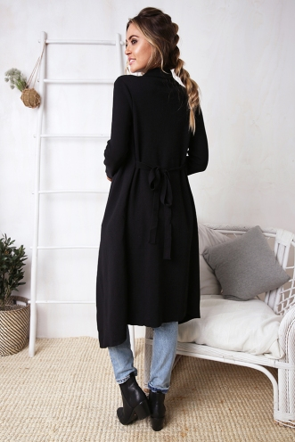 Slow Dance Cardigan - Black