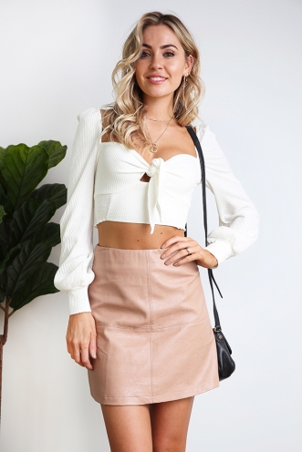 Madalyn Top - White