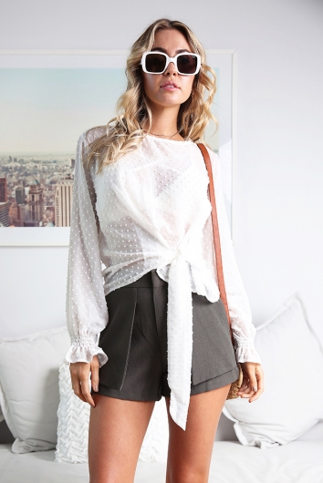 Briony Top - White