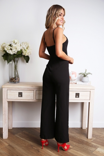 Alyza Jumpsuit - Black