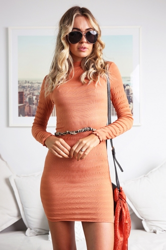 Kellianne Dress - Orange