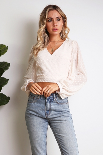 Ayleece Top - Light Pink