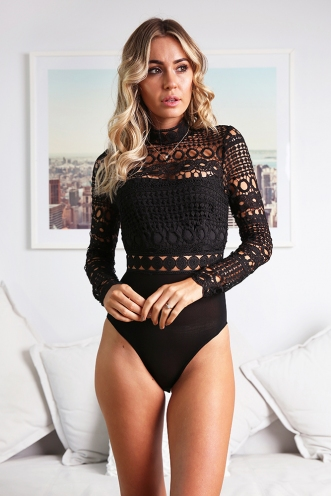 Rosie Bodysuit - Black