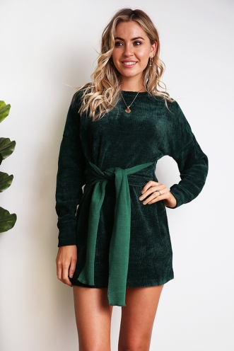 Dark Star Dress - Green
