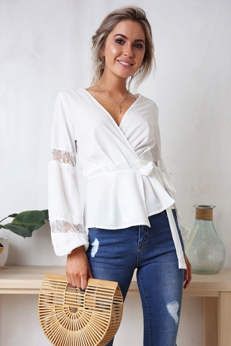 Chrissy Top - White