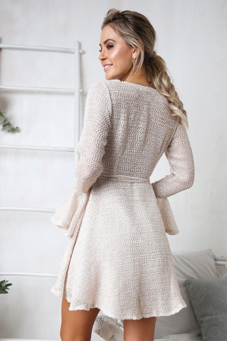 Tahere Dress - Beige