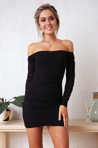 Rhianna Dress - Black