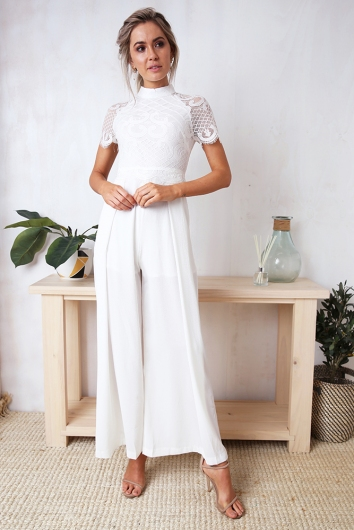 Oh My Jumpsuit - White