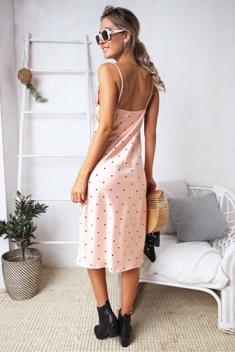 Claws Out Dress - Pink Spot