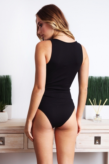 Kiki Bodysuit - Black