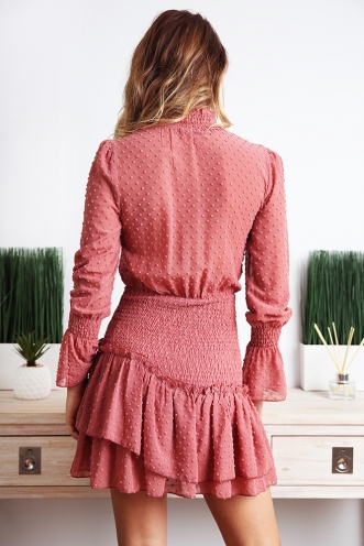 Giulia Dress - Dusty Pink