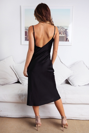 Street Lights Dress - Black