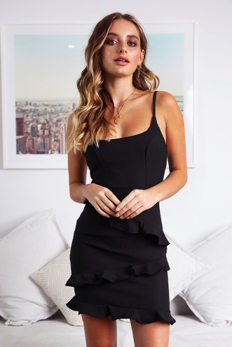Love delay Dress - Black