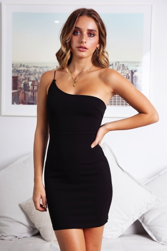 Aneesa Dress - Black