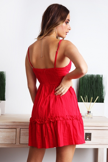 Savannah Dress - Red