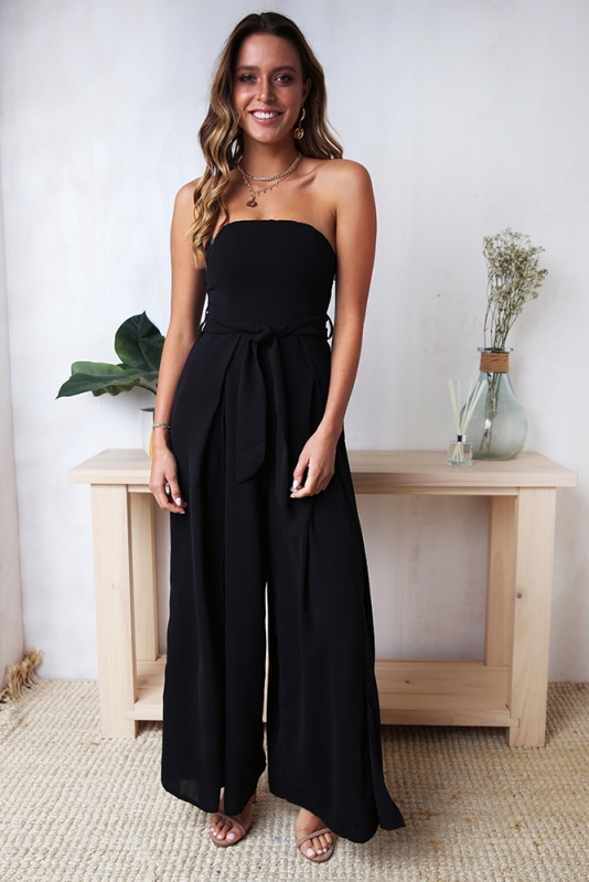 b2483e1531 First Class Jumpsuit - Black. Loading zoom